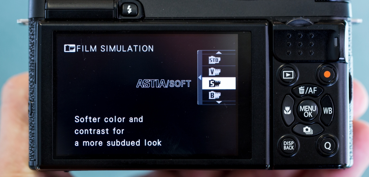Film Simulation Menu