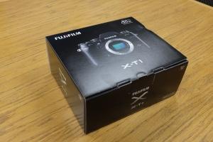 Fujifilm X-T1 Box