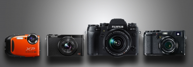 The Fujifillm cameras included in this vacation