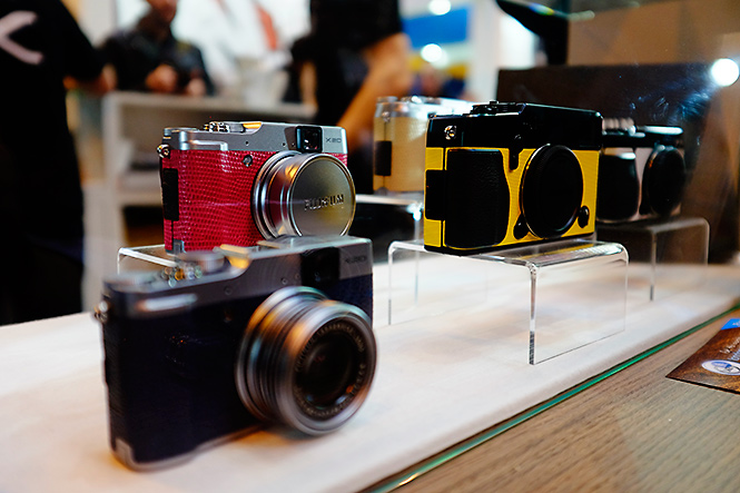 The Fujifilm X Signature service will launch very soon. Here's a few sample cameras showing off some of the unique colours you will soon be able to have.