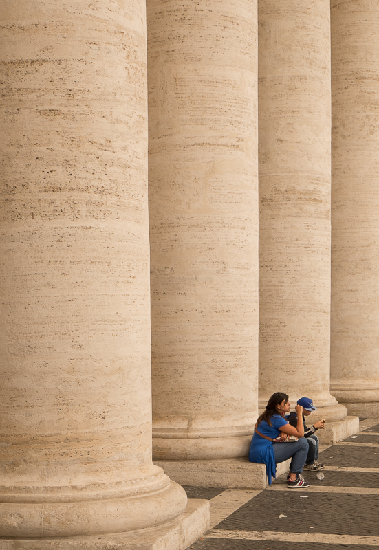 The Vatican. XF18-55mm, 1/80sec at f/10, ISO 200