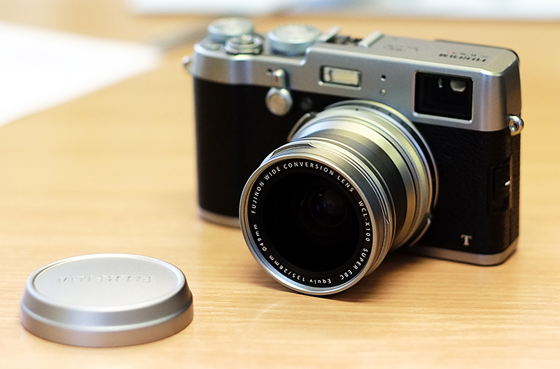Here's what my X100T will look like when I get it. Much love for the WCL-X100