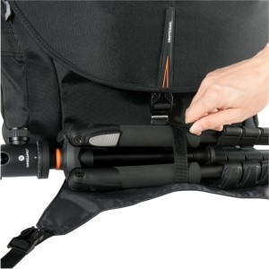 The Vanguard Heralder 38 won't win any beauty awards, but it's a highly efficient bag that can also help you carry a tripod without bumping in to everything and everybody.