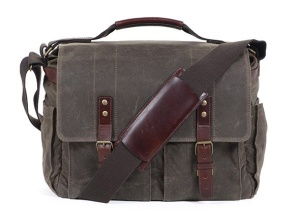 The Astoria is Ona's biggest bag. If you carry less gear than I typically do, you might want to check out their gorgeous but slightly heavy full leather Brixton.