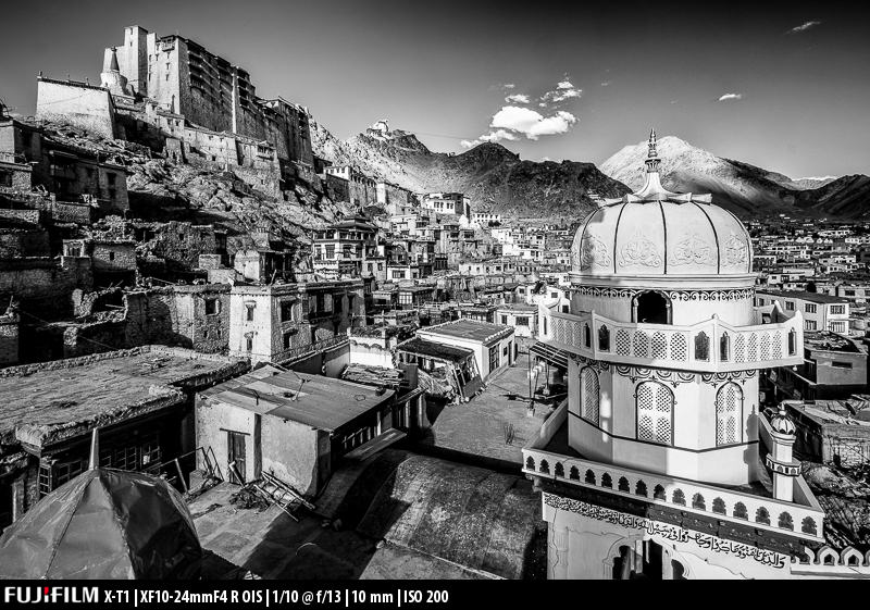 The end result: I often convert my HDR images to Black and White.