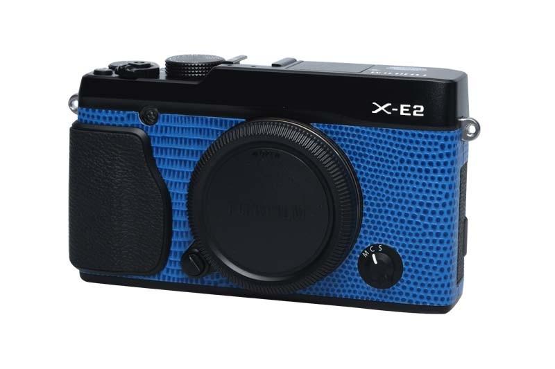 X-E2 blue lizard (black)