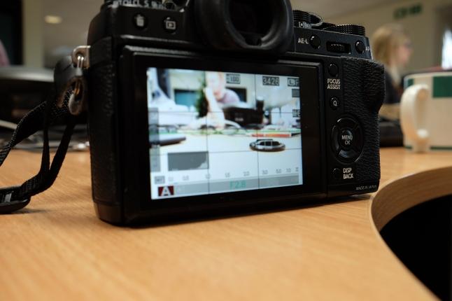 Spot Metering on lens cap