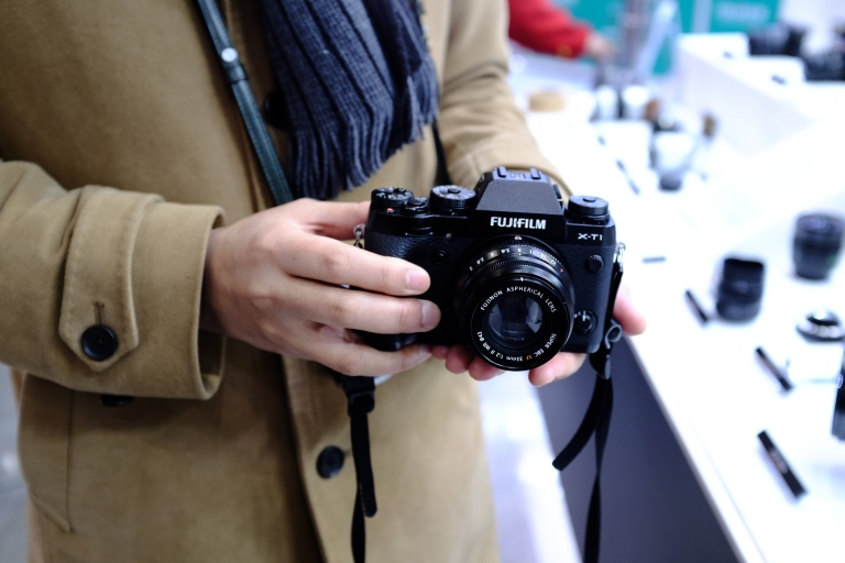 The new XF35mmF2 lens, as modelled on my X-T1