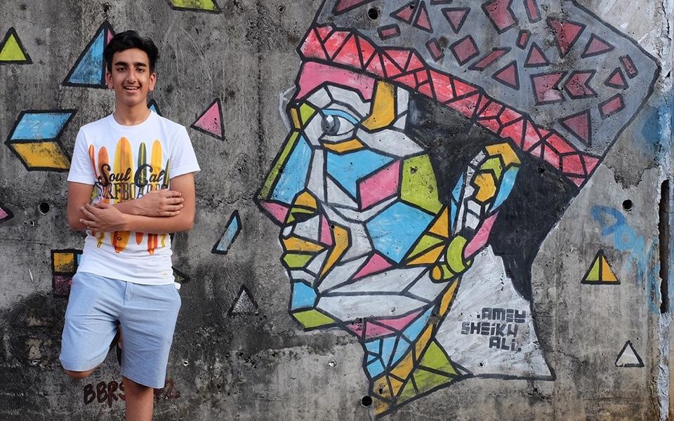 Art of Seeing Photographic workshop, Street of Graffitti in Kuching, Sarawak DSCF1174 copy