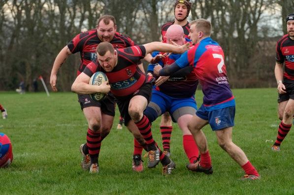 Club Rugby - North Berwick RFC v Ross High RFC