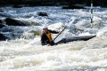 Canoe Slalom at Grandtully, Scotland