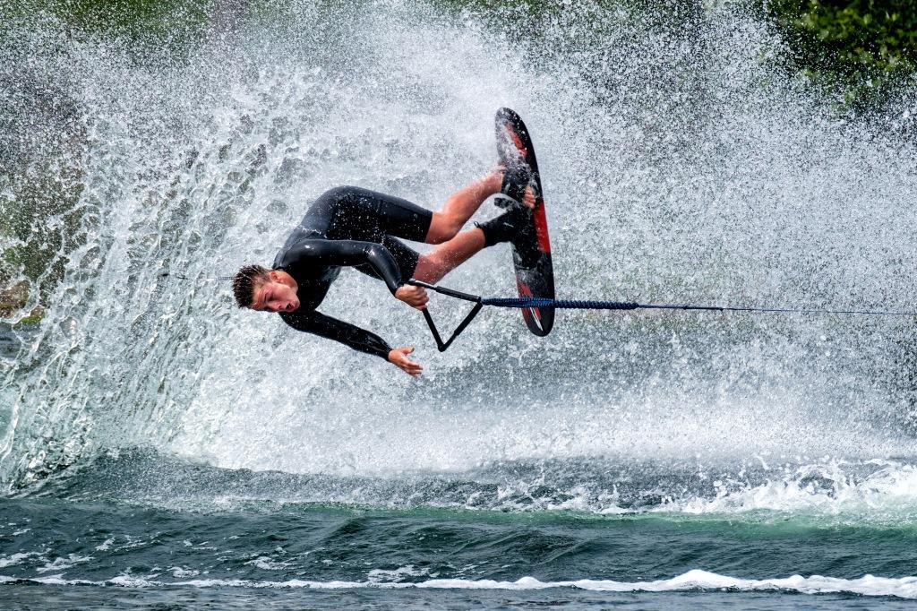 Malibu 3 Round Trick - Hazelwood Ski World, Lincoln