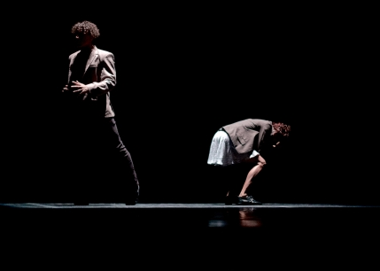 """Derrumbe"" by Miguel Altunaga. Dancers: Mario Sergio Elias and Martina Ortega"