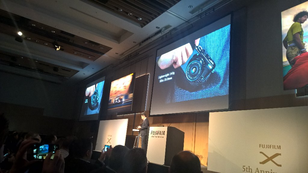 """Awesome little compact camera"" - Fujifilm UK's Theo Georghiades"